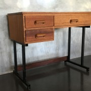 Retro Vintage Midcentury Industrial Style Desk 2