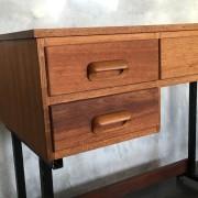 Retro Vintage Midcentury  Industrial Style Desk 3