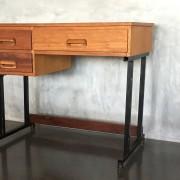 Retro Vintage Midcentury  Industrial Style Desk 4