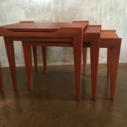 Retro Vintage Midcentury Nest of Tables by Alpa Furniture 2