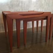 Retro Vintage Midcentury Nest of Tables by Alpa Furniture 3