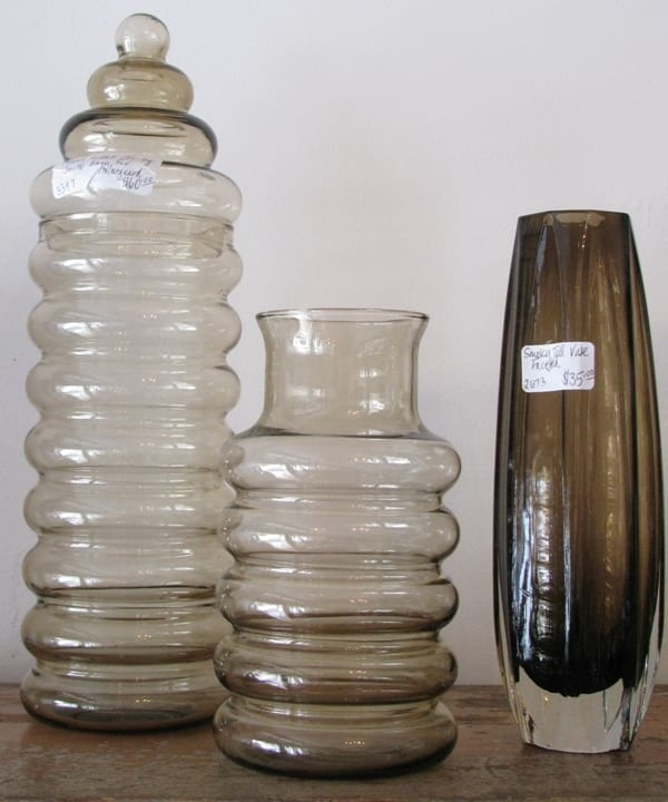 Holmegaard Tall Glass Container
