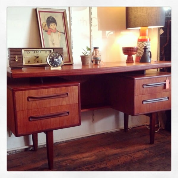 Mid Century GPlan Dresser - Desk Sideboard