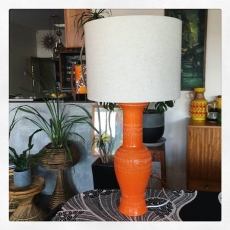 Mid century Bitossi Table Lamp