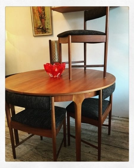 Mid Century Dining Suite by Scottish maker AH McIntosh