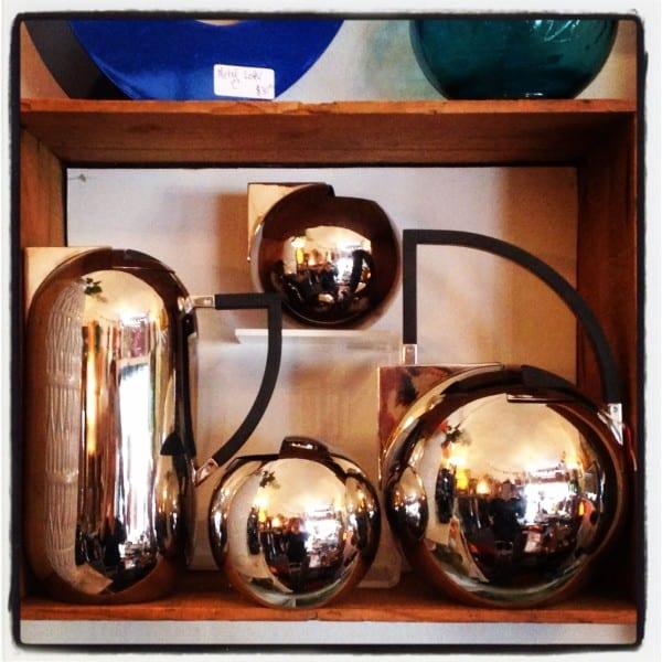 Nio stainless steel coffee & tea set by Oliver Hemming.
