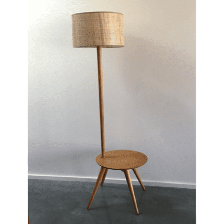 Retro-Atomic-Midcentury-1950s-Coffee-Table-&-Light-Combination