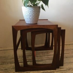 Mid Century GPlan Teak Nest of Tables - Quadrille