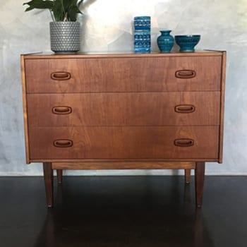 Mid Century Drawers Furniture Perth