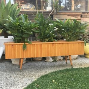 Mid Century Retro Planter Box