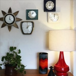 Collection Mid Century Wall Clocks