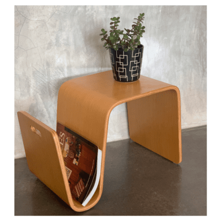 Mid Century Coffee Table & Magazine Rack | 20th Century Vintage