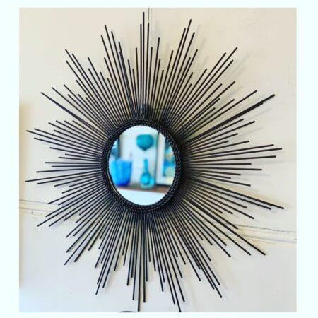 Mid Century Starburst Mirror | 20th Century Vintage