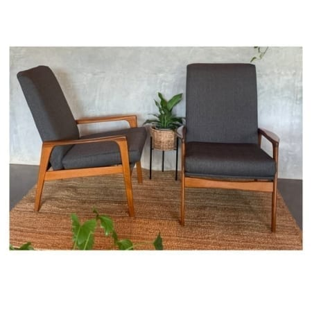 Fler Norsk Mid Century Armchairs