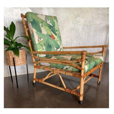 Vintage Cane Armchair | 20th Century Vintage