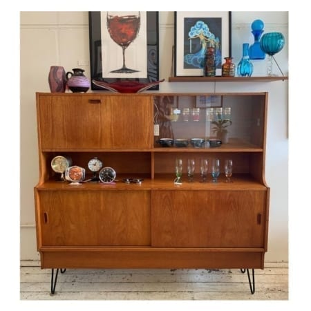 Mid Century Sideboard / Drinks Cabinet. 20th Century Vintage, Perth.