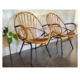 Mid Century Cane Chairs - Made in Netherlands | 20th Century Vintage